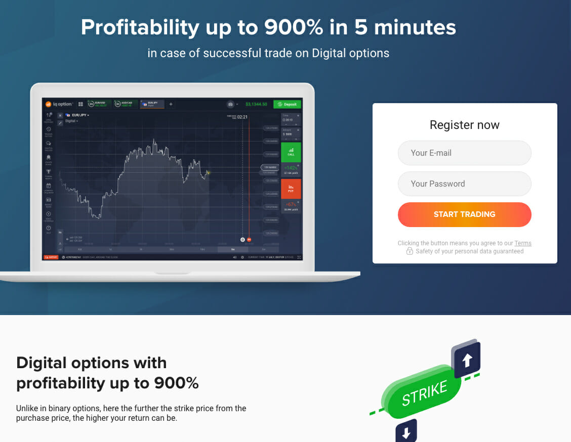 IQ Option Digital Options