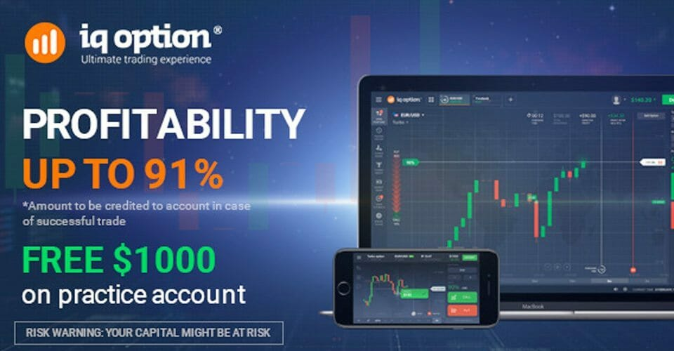 IQ Option Account Types
