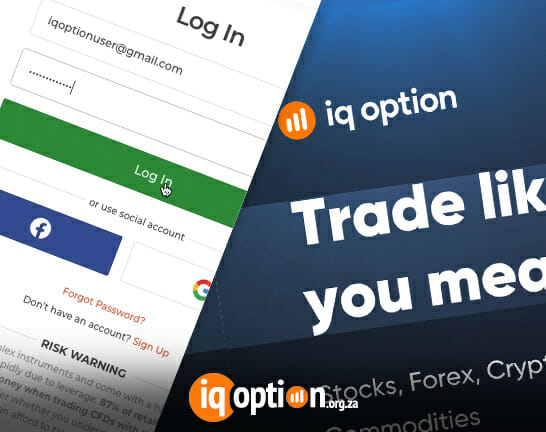 IQ Option login - Log into IQ Option Trading platform from the desktop browser, and through the input fields with email and password